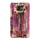 Arte rosado urbano de la moda n de Jennifer por el Galaxy SII Carcasas