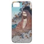Arte sabio principal clásico japonés oriental fres iPhone 5 Case-Mate carcasa