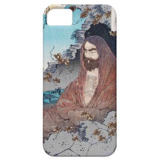 Arte sabio principal clásico japonés oriental funda para iPhone SE/5/5s