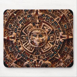 Arte sagrado Mousepad del calendario de Sun del