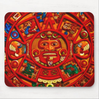 Arte sagrado Mousepad del calendario de Sun del Ma Tapetes De Ratón