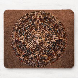 Arte sagrado Mousepad del calendario de Sun del Ma Tapetes De Raton