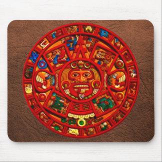 Arte sagrado Mousepad del calendario de Sun del Ma Alfombrillas De Ratones