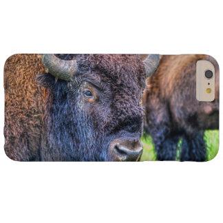 Arte salvaje de los bóvidos del búfalo y del funda barely there iPhone 6 plus