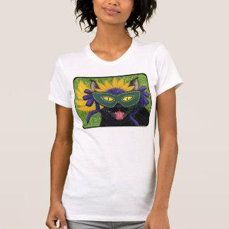 Arte salvaje Shi de la máscara de New Orleans del Camisetas