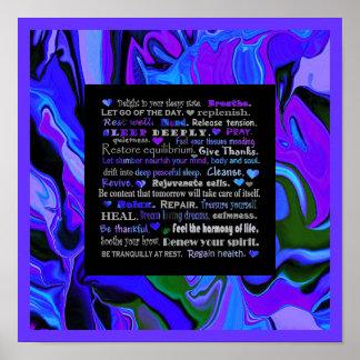 arte sano del sueño póster