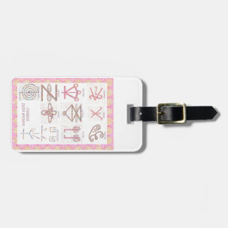 ARTE simbólico Reiki domina las herramientas de l Etiqueta Para Equipaje