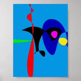 Arte simple de Digitaces del expresionismo