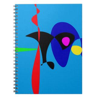 Arte simple de Digitaces del expresionismo abstrac Libro De Apuntes