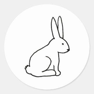 Arte simple del logotipo del símbolo gráfico de la pegatina redonda