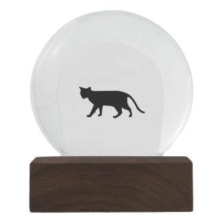 Arte simple del maullido del ronroneo del gatito bola de nieve