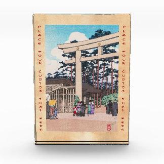 Arte sintoísta de la capilla de Meiji de la arquit