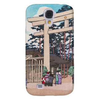 Arte sintoísta de la capilla de Meiji de la arquit Funda Para Galaxy S4