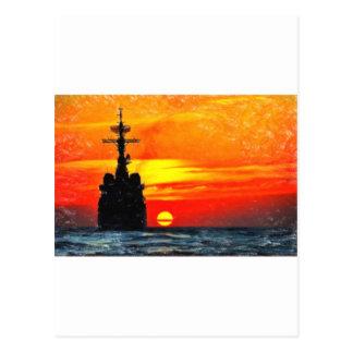 arte solitario de la estrella postales