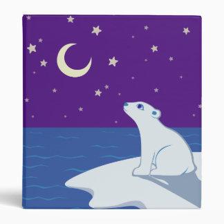 "Arte Stargazing de Cub del oso polar Carpeta 1"""