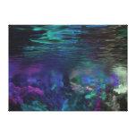 Arte subacuático de Digitaces Impresion De Lienzo