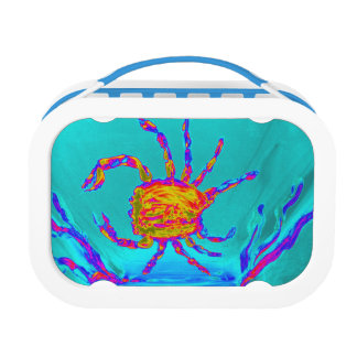 Arte submarino del cangrejo fresco