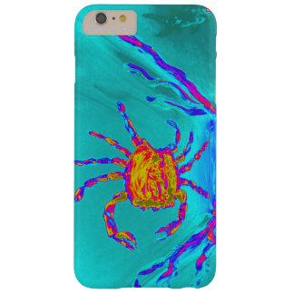 Arte submarino del cangrejo fresco funda de iPhone 6 plus barely there