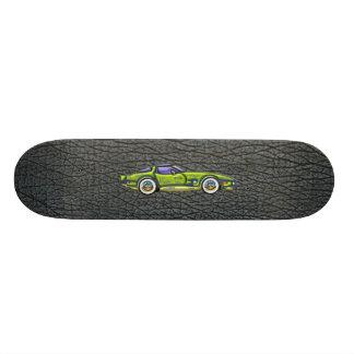 Arte superior clásico de la piel del Corvette y de Tabla De Patinar