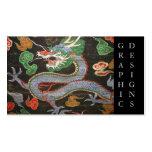 Arte surcoreano Namdaemun Sungnyemun del dragón Tarjetas De Visita
