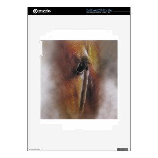 Arte sutil del animal de los caballos iPad 2 skin