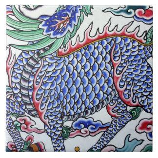 Arte taiwanés azulejo cuadrado grande