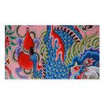 Arte taiwanés tarjeta de negocio