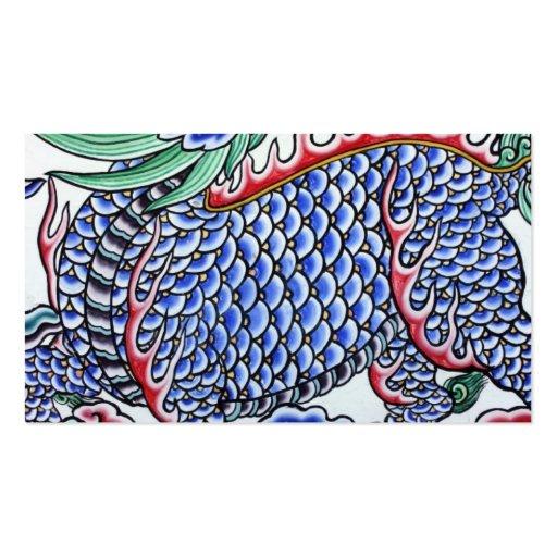 Arte taiwanés tarjetas de visita