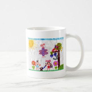 arte taza de café