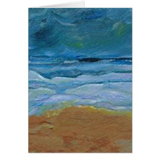 Arte tempestuoso del océano de CricketDiane de las Tarjeta De Felicitación