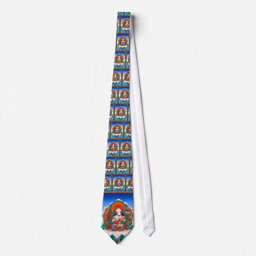 Arte tibetano oriental fresco del tatuaje de dios  corbata personalizada