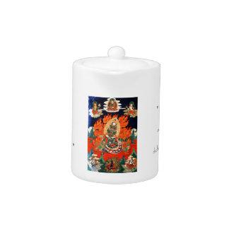 Arte tibetano oriental fresco del tatuaje del than