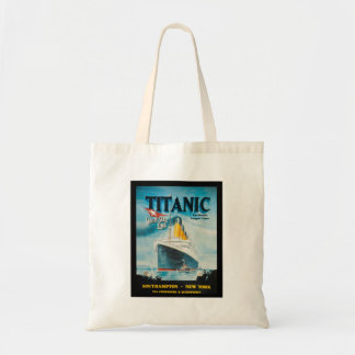 Arte titánico del poster del vintage del RMS Bolsa Tela Barata