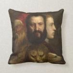 arte titian almohada