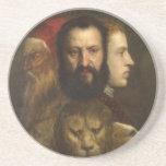 arte titian posavasos personalizados