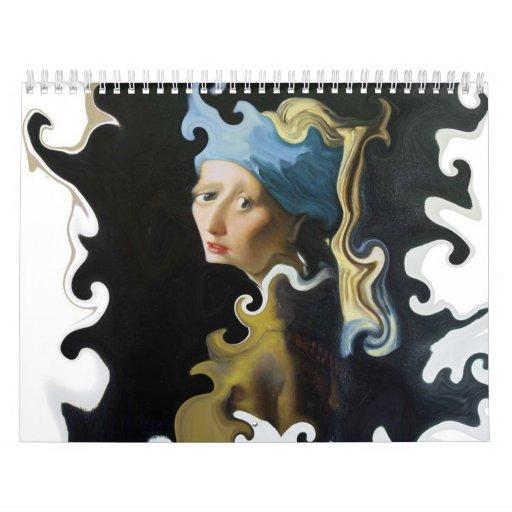 Arte torcido calendarios