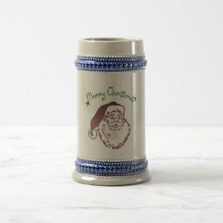 Arte tradicional del navidad del padre tazas de café