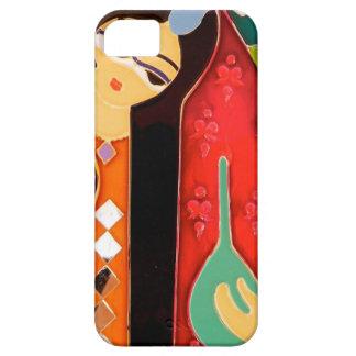 Arte tradicional persa iPhone 5 Case-Mate cárcasa