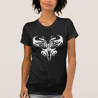 Arte tribal #029 de la mariposa polera