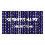 Arte tribal abstracto plantillas de tarjeta de negocio