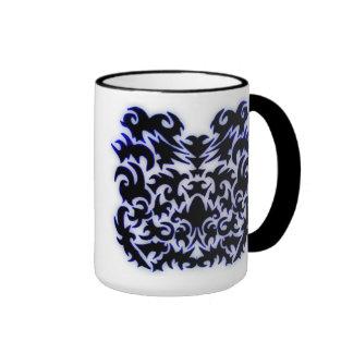 Arte tribal tazas de café