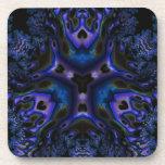 Arte Trippy del fractal de Blue/BLK