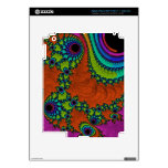 Arte Trippy del fractal iPad 3 Skin