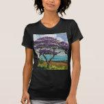 Arte tropical del árbol del Jacaranda Camiseta