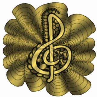 Arte único adaptable de la música