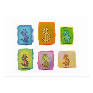 Arte único del consultor de las ventas de la diver tarjeta personal