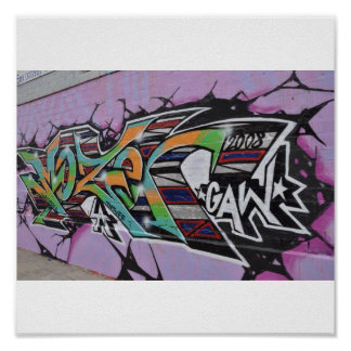 Arte urbano póster