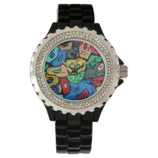 Arte urbano relojes de pulsera
