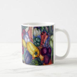 Arte vegetal taza clásica