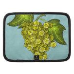 Arte verde de las uvas del mosaico planificadores